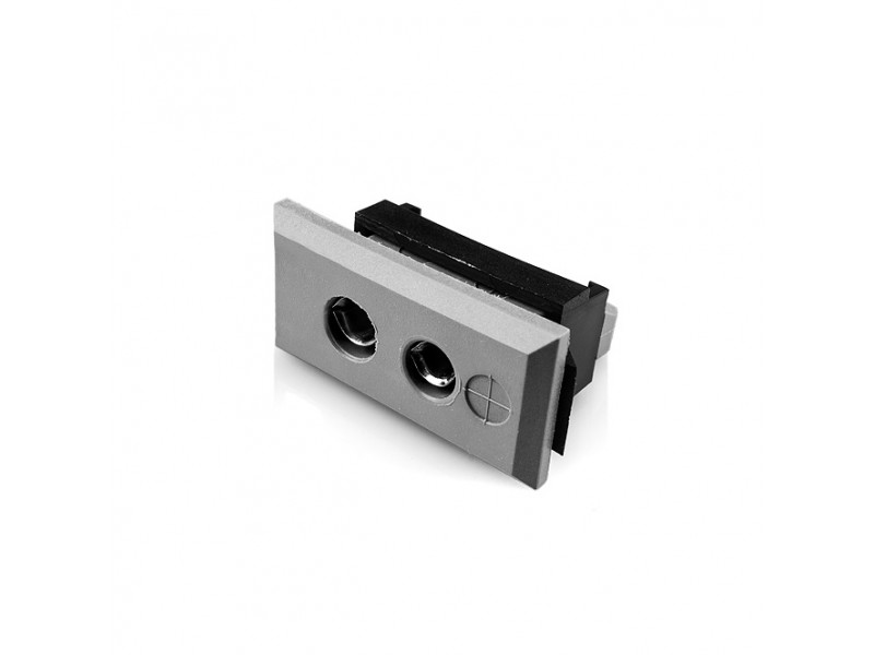 Standard Rectangular Thermocouple Connector Fascia Socket IS-B-FF Type B IEC