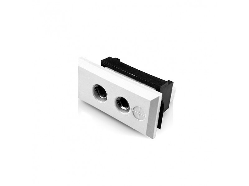 Standard Rectangular Thermocouple Connector Fascia Socket FSTC-CU-FF Type Cu
