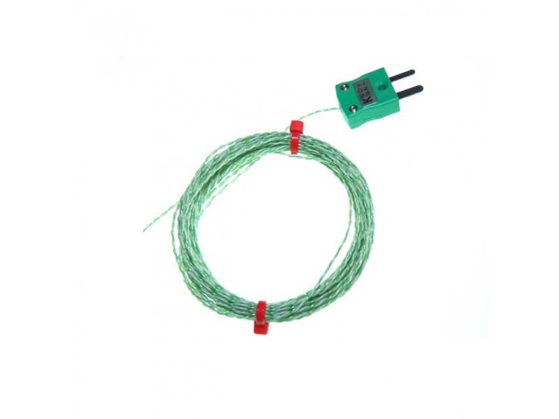 PTFE insulated IEC Exposed Junction Thermocouple