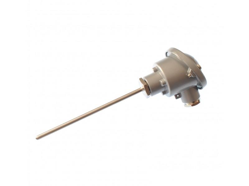 Pt100 4 wire class B Resistance Thermometer, DIN B Head RTD / PRT