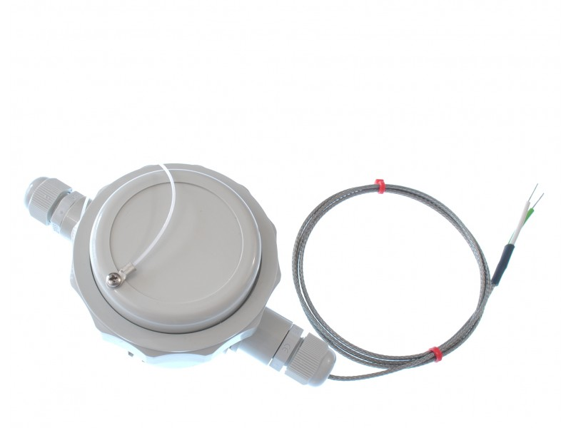4-20mA remote wall mounted housing, Type K Thermocouple input 1 metre lead