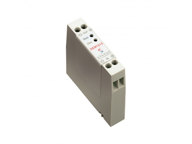 Status SEM1015 - Loop Powered Voltage to Current convertor / Isolator