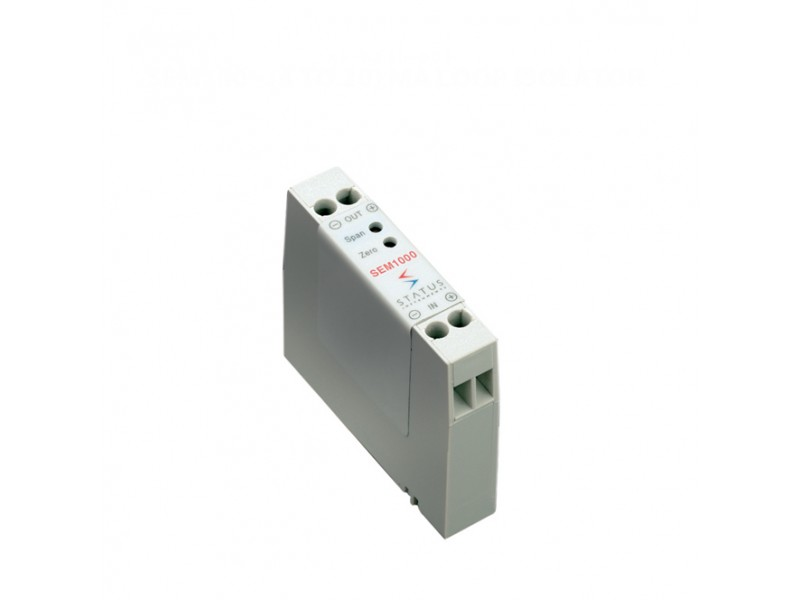 Status SEM1000 - (4 to 20) mA Loop Isolator