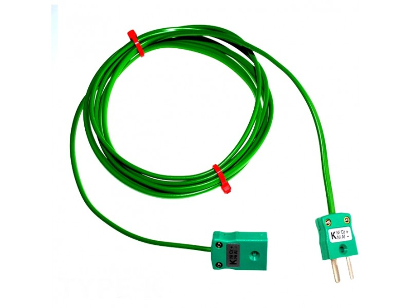 Type K PVC Extension Leads with Miniature Plug & Socket (IEC)