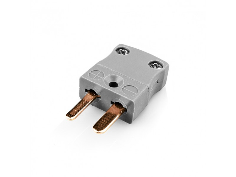 Miniature Thermocouple Connector Plug AM-B-M Type B ANSI