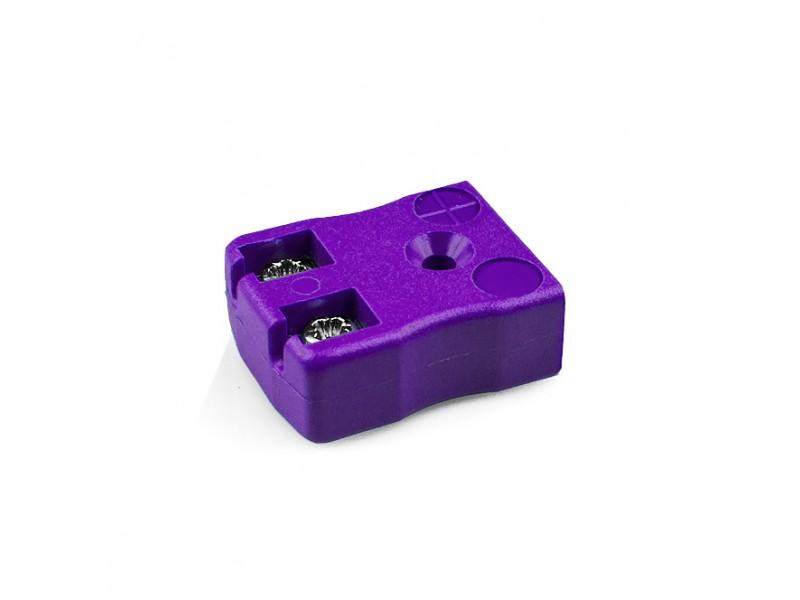 Miniature Quick Wire Thermocouple Connector Socket AM-E-FQ Type E ANSI