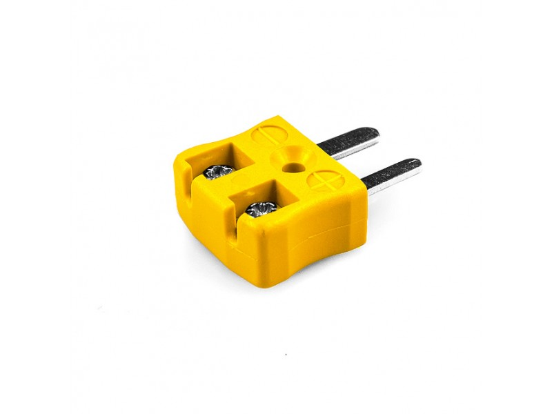 Miniature Quick Wire Thermocouple Connector Plug JM-J-MQ Type J JIS