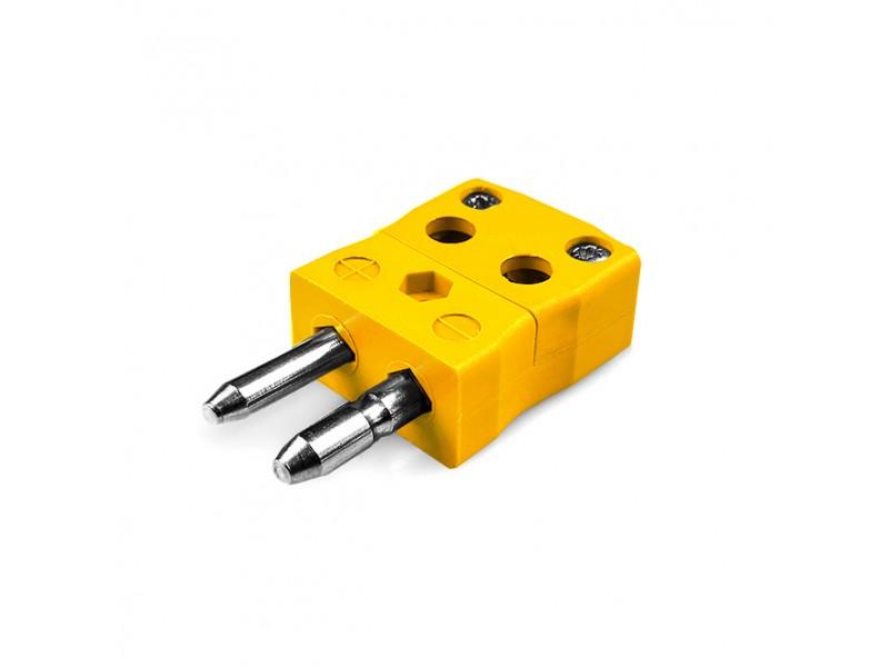 Standard Quick Wire Thermocouple Connector Plug JS-J-MQ Type J JIS