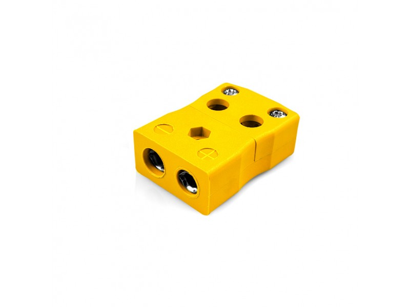 Standard Quick Wire Thermocouple Connector Socket JS-J-FQ Type J JIS