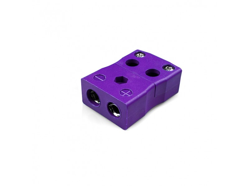 Standard Quick Wire Thermocouple Connector Socket JS-E-FQ Type E JIS