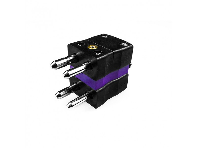 Standard Thermocouple Duplex Thermocouple Connector Plug JS-E-MD Type E JIS