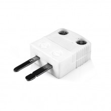 Miniature High-Temperature (650°C) Ceramic Thermocouple Plug AM-R/S-M-HTC Type R/S ANSI