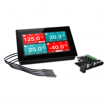 EL-SGD 43-ATP - Panel Mountable Four-Channel Temperature Data Logger