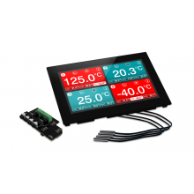 Lascar EL-SGD 70-ATP - Panel Mountable Four-Channel Temperature Data Logger