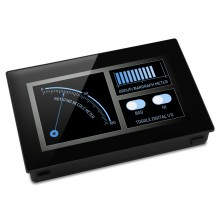 "PanelPilot SGD 43-A - 4.3"" Display with Analogue, Digital, PWM and Serial Interfaces"