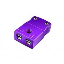 Miniature Thermocouple Connector In-Line Socket IM-E-FS Type E IEC