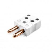 Standard Quick Wire Thermocouple Connector Plug FSTC-CU-MQ Type Cu