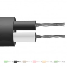 Type J PVC Insulated Flat Pair Thermocouple Cable / Wire (IEC)