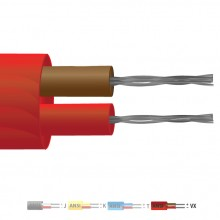 Type Vx PVC Insulated Flat Pair Thermocouple Cable / Wire (ANSI)
