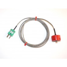 Magnet Thermocouple with Miniature Plug Type K