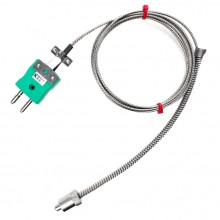 Adjustable Bayonet Thermocouple Type K or J IEC & Type J BS
