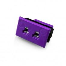 Miniature Rectangular Fascia Socket Thermocouple Connector JM-E-FF Type E JIS