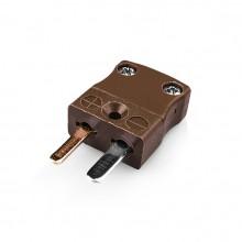 Miniature Thermocouple Connector Plug JM-T-M Type T JIS