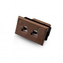 Miniature Rectangular Fascia Socket Thermocouple Connector JM-T-FF Type T JIS