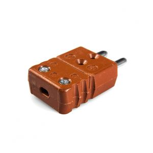 High temperature Standard Thermocouple Connector Plug STC-J-M-HTP Type J