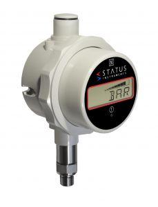 Status DM650PM - Base Mounted 0-3 bar Pressure & Temperature Indicator With Data Logging, Alarm & Messaging