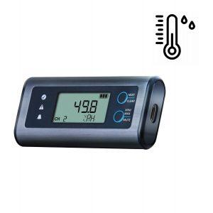 Lascar EL-SIE-2 Temperature & Humidity USB Data Logger - No software required, multi-platform