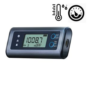 Lascar EL-SIE-6+ High Accuracy Temperature, Humidity and Air Pressure USB Data Logger - No software required, multi-platform