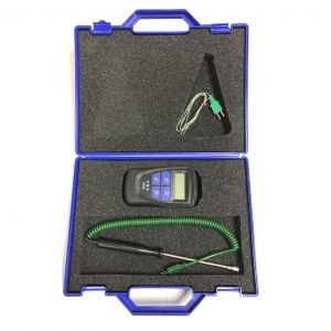 Legionella Pro Kit with Integral Timer Thermometer, Probe and Moulded-on Thermocouple