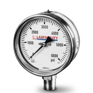 Stainless Steel Bourdon Tube Pressure Gauge (100mm Ø) with Glycerine Filled option