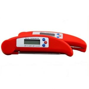Red Folding Probe Thermometer