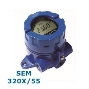 Status SEM320X/55 HART Field Transmitter