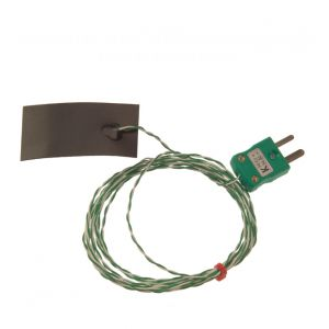 Magnetic Strip Thermocouple, PTFE Insulated with Miniature Plug - Type K
