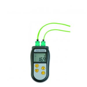 Therma Differential Thermometer (Type K) with optional calibration & probes