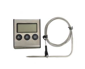 Digital Cooking Thermometer Timer With Alarm & rear magnet