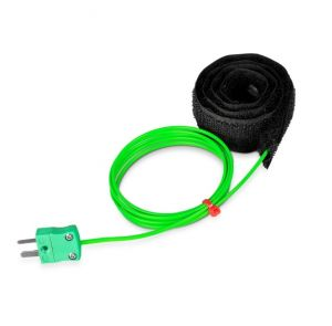 Velcro Thermocouple, PFA with Miniature Plug - Type K,T