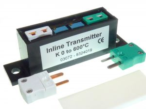 ILTX High Accuracy Pt100 or Thermocouple In-Line Temperature Transmitter