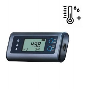 Lascar EL-SIE-2+ High Accuracy Temperature & Humidity USB Data Logger -No software required, multi-platform