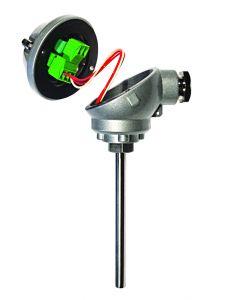 Status HTR200 Miniature In Head RTD/ Slidewire Temperature Transmitter