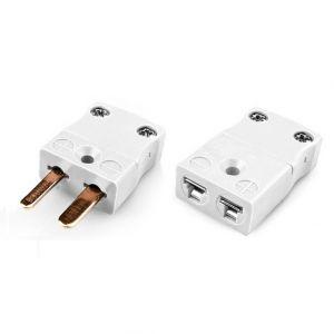 Miniature Thermocouple Connector Plug & Socket IM-CU-M+F Type CU IEC