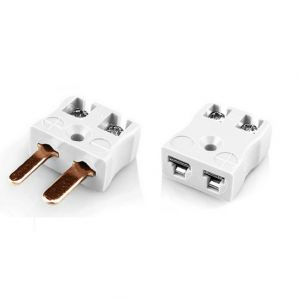 Miniature Quick Wire Connector Thermocouple Plug & Socket IM-CU-MQ+FQ Type CU IEC