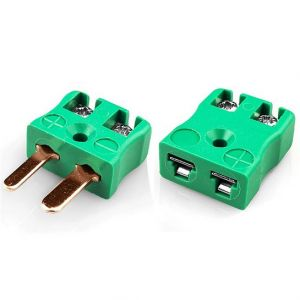 Miniature Quick Wire Thermocouple Connector Plug & Socket AM-R/S-MQ+FQ Type R/S ANSI