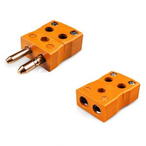 Standard Quick Wire Thermocouple Connector Plug & Socket IS-R/S-MQ+FQ Type R/S IEC