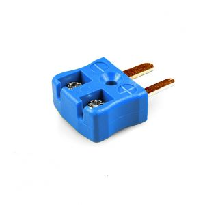 Miniature Quick Wire Thermocouple Connector Plug AM-T-MQ Type T ANSI