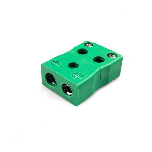 Standard Quick Wire Thermocouple Connector Socket IS-K-FQ Type K IEC