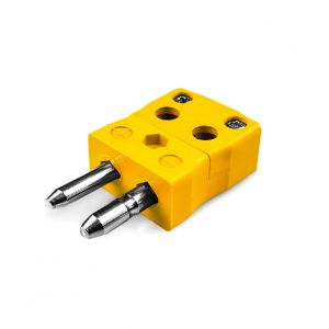 Standard Quick Wire Thermocouple Connector Plug AS-K-MQ Type K ANSI